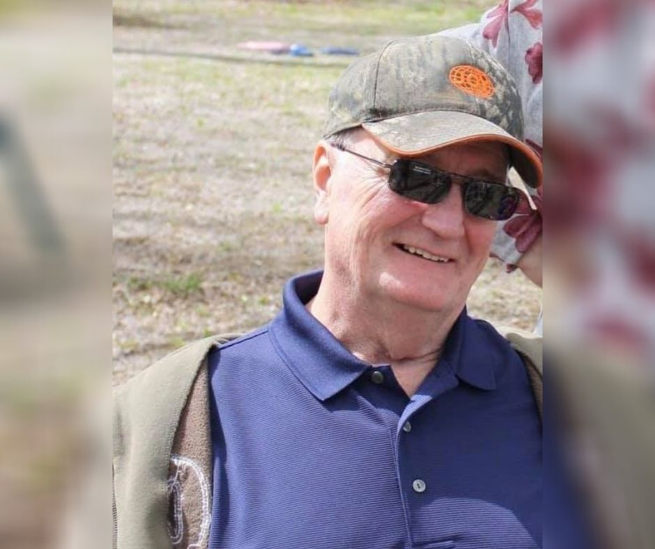 Buckhannon man who went missing in 2019, Carl Crumrine, wearing black sunglasses and purple shirt