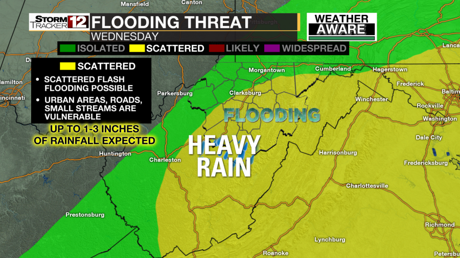 Weather Aware Flood Threat Wednesday Wboy Com View the latest weather forecasts, maps, news and alerts on yahoo weather. weather aware flood threat wednesday