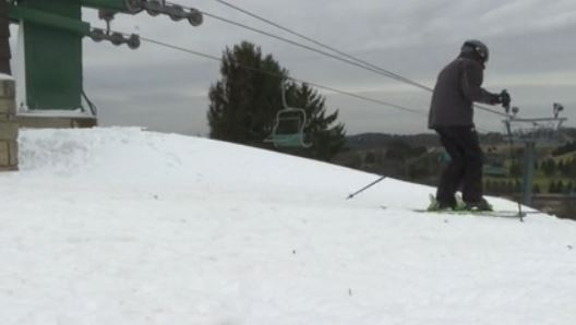 A white Christmas is paving the way for opening day at Oglebay's slope!