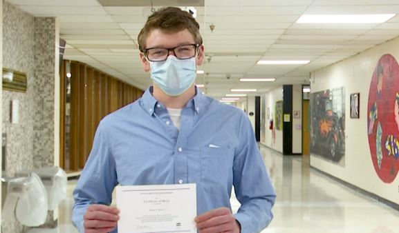 Senior at Brooke High becomes National Merit Scholar finalist