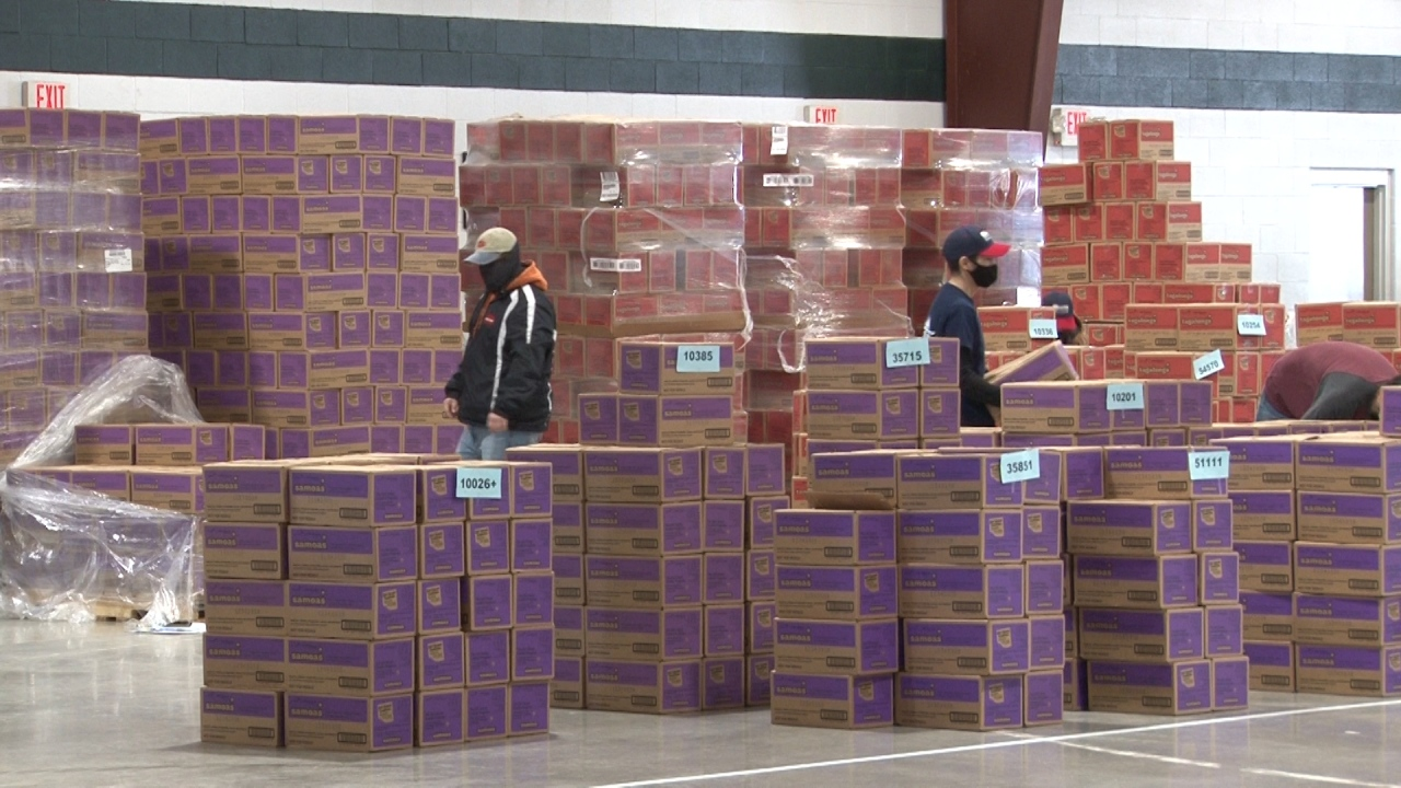 More than 60,000 boxes of Girl Scout cookies have made their way to Monongalia County