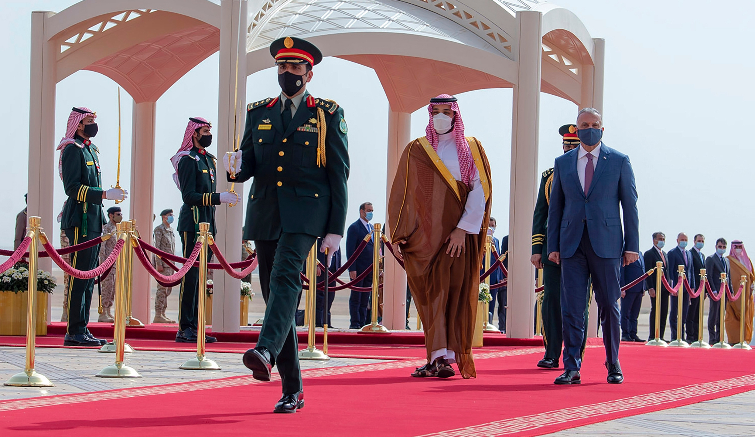 Mohammed bin Salman, Mustafa al-Kadhimi